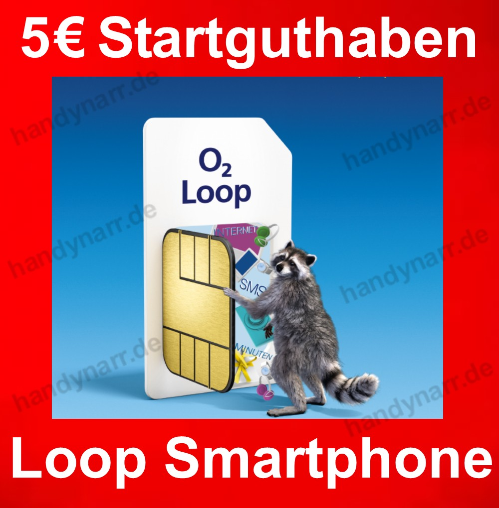 o2 loop prepaid smartphone micro sim karte handy karten 5 euro guthaben 2x flat ebay. Black Bedroom Furniture Sets. Home Design Ideas