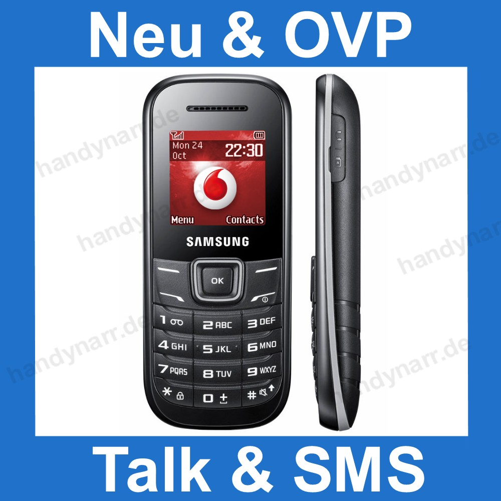 samsung e1200 vodafone callya prepaid handy mit d2 call ya sim karte 5 15 black ebay. Black Bedroom Furniture Sets. Home Design Ideas
