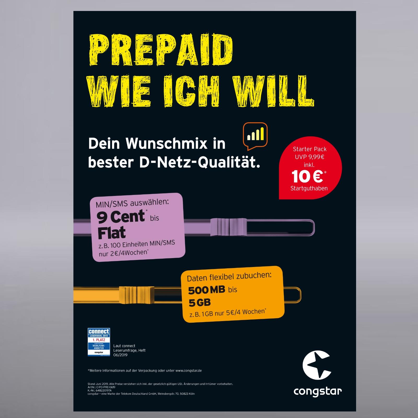 Congstar Prepaid Karte Kaufen.Details Zu Congstar Prepaid Handy Sim Karte 10 Guthaben T Mobile D1 Netz T Com Xtra Card